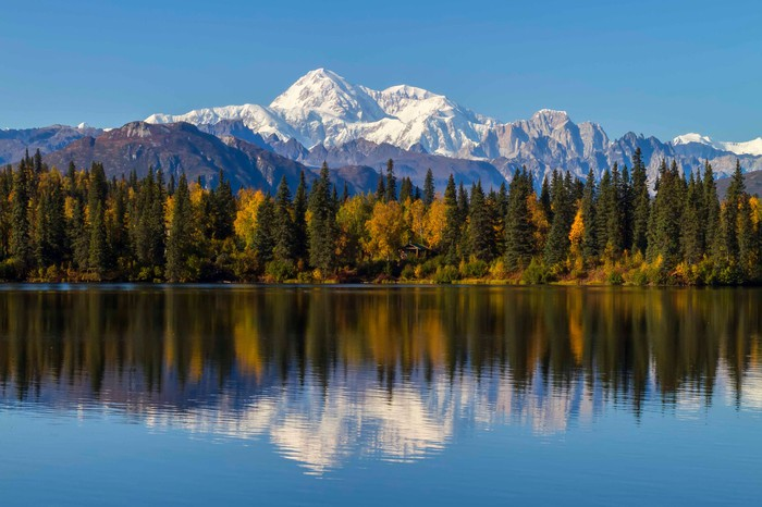 Byers Lake and Denali, Alaska