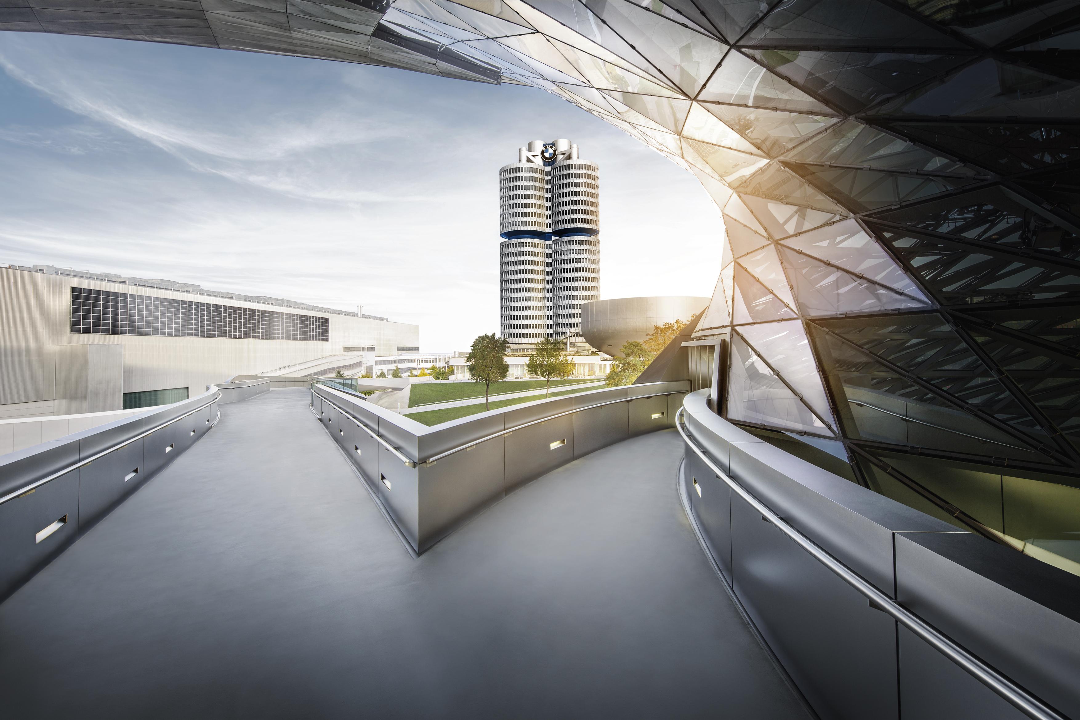 BMW's iconic headquarters tower.