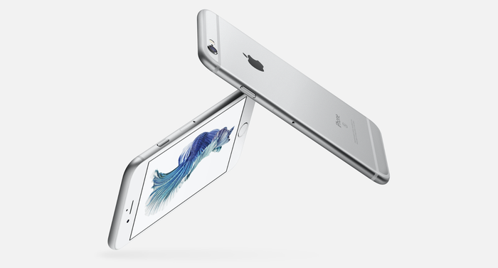 Silver iPhone 7