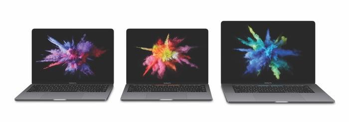 Apple's 2016 MacBook Pro lineup