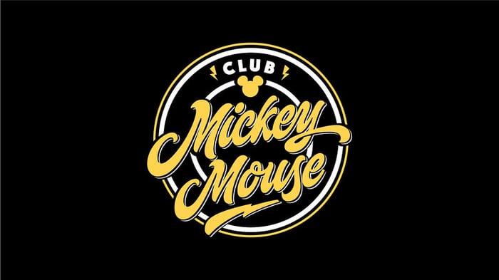 Club Mickey Mouse logo.