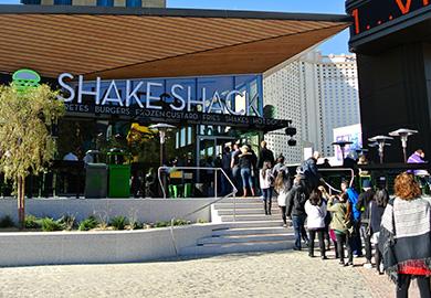 A new Shake Shack opening in Las Vegas