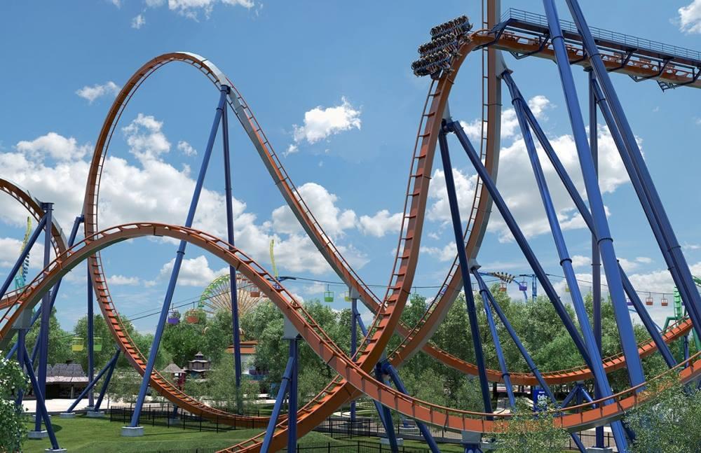 Cedar Fair's Valravn rollercoaster