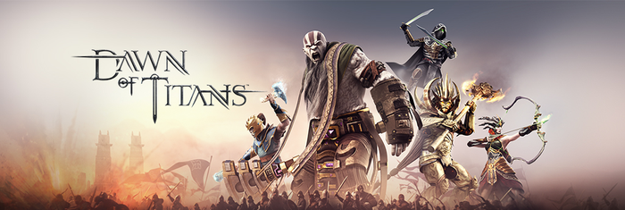 A banner from Dawn of Titans.