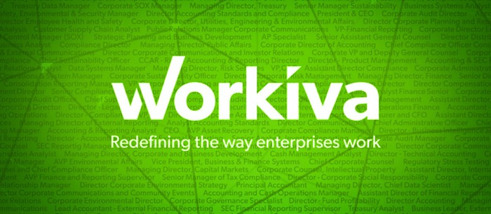 The Workiva logo.