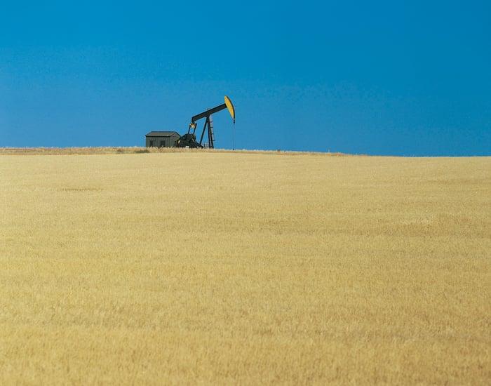 Oil Pump in North Dakota.