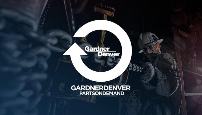 The Gardner Denver logo.