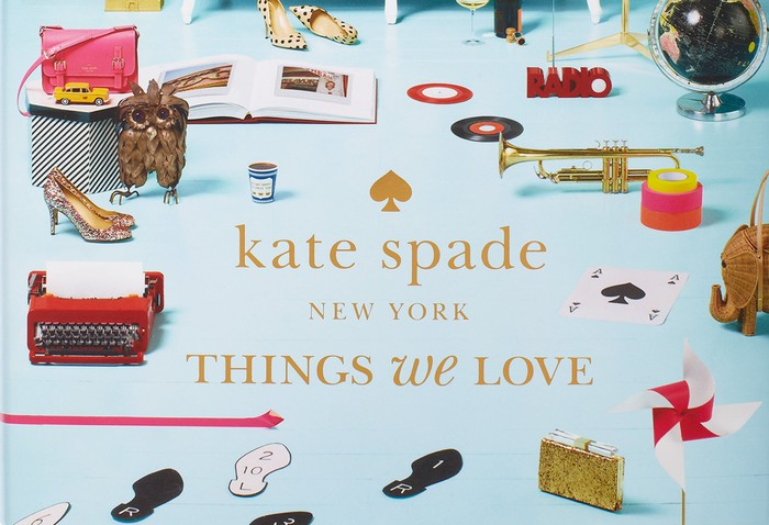 Cover of a Kate Spade-sold book.