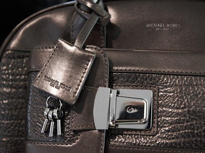 A Michael Kors designer briefcase