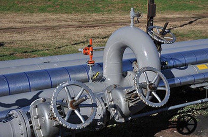 A Holly Energy pipeline.