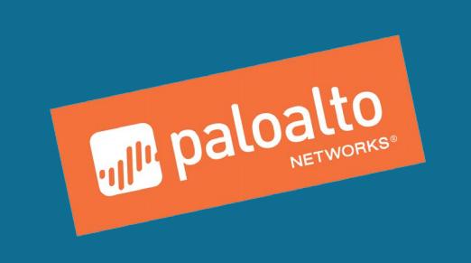 Palo Alto Networks logo.
