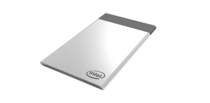 Intel's small compute card.