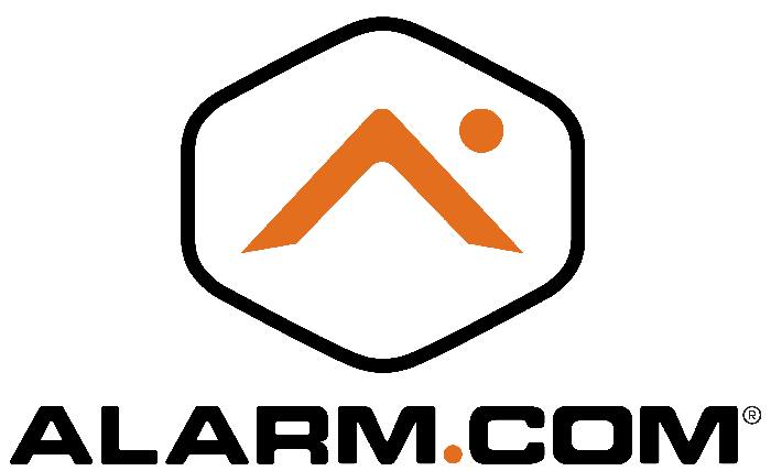 The Alarm.com logo.