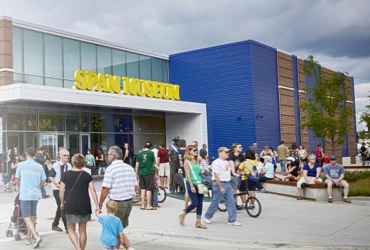 Hormel's SPAM museum.