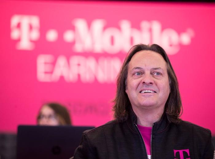 John Legere, T-Mobile CEO.