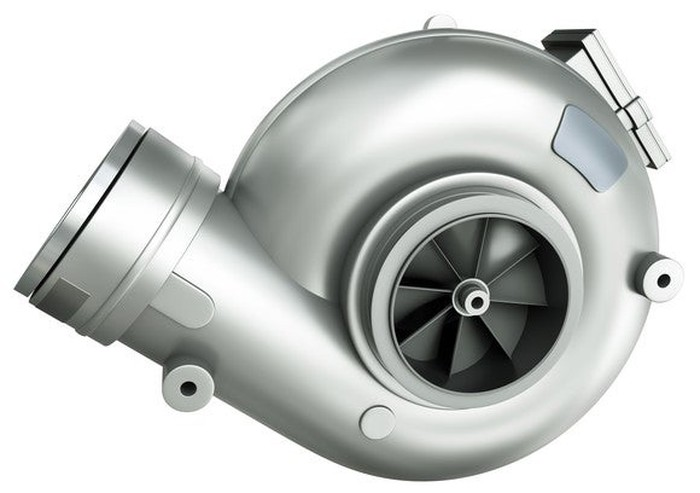 A turbocharger.