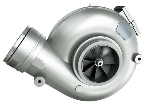 A turbocharger.