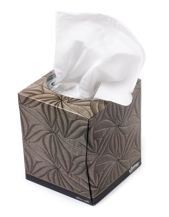 A box of Kleenex.