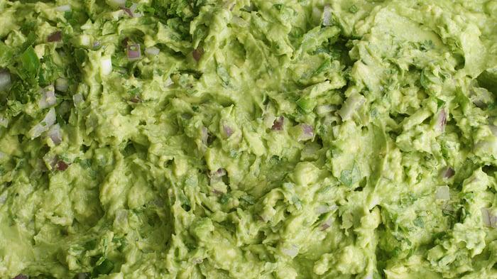 Chipotle guacamole.