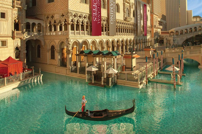 The Venetian casino and hotel in Las Vegas.