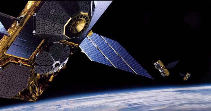 Globalstar satellites