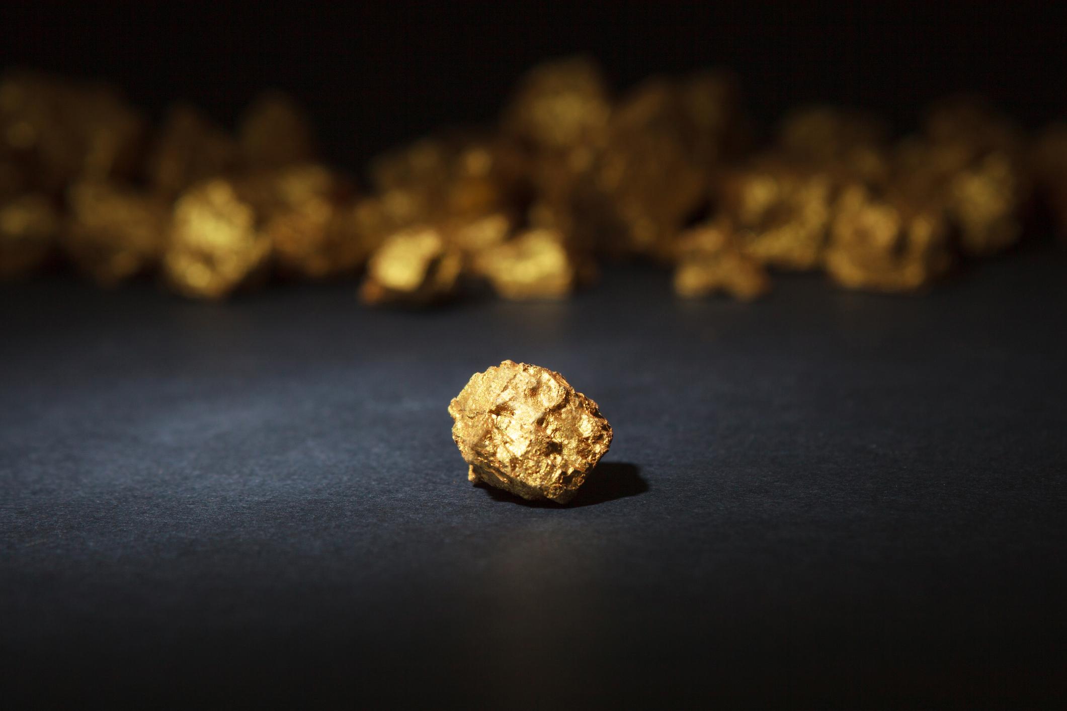 Golden nuggets.
