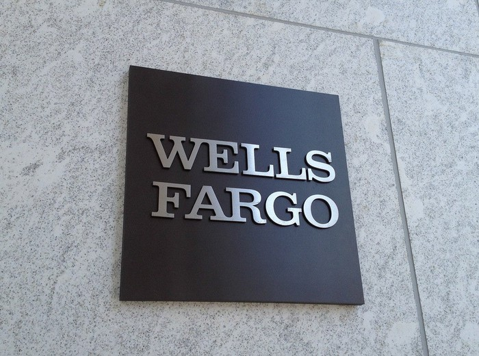 The Wells Fargo logo.