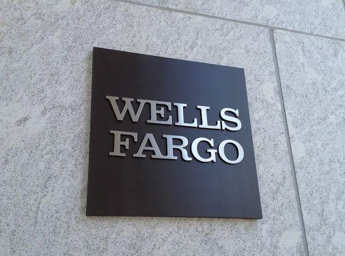 The Wells Fargo logo.