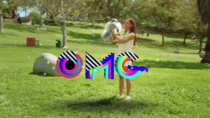 An illustration of Snapchat's new world lenses feature.