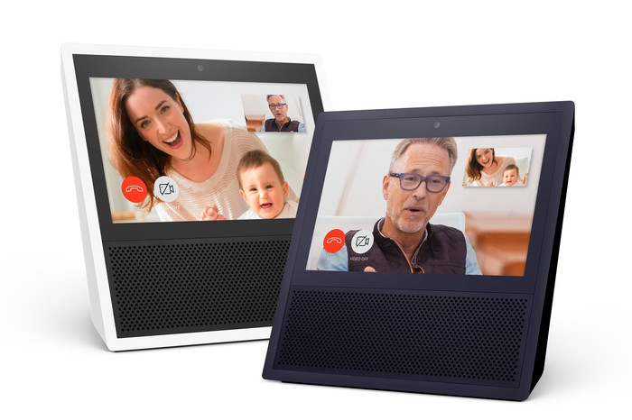 Amazon's Echo Show with Touch Screens.