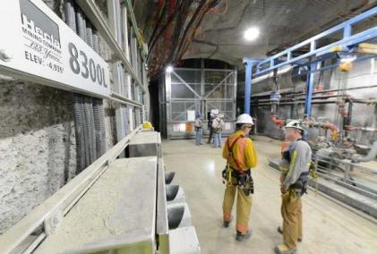 Hecla Mining employees.