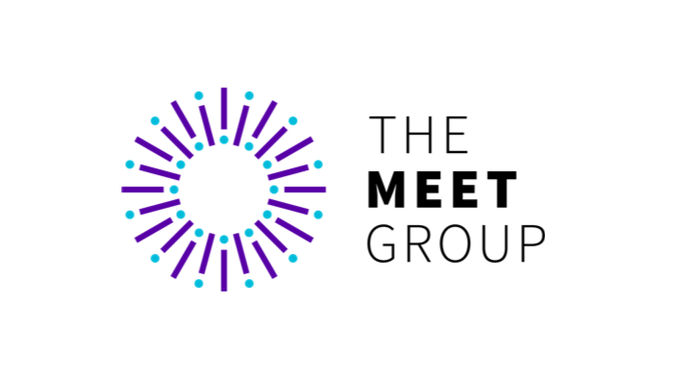 Logo of The Meet Group.