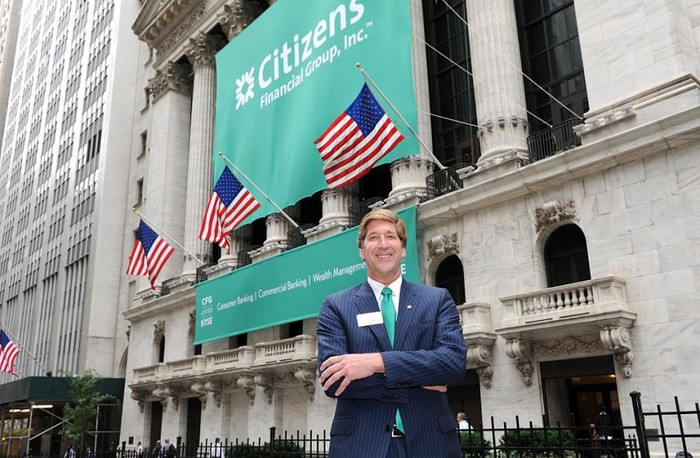 Bruce Van Saun, the Chairman and CEO of Citizens Financial Group.