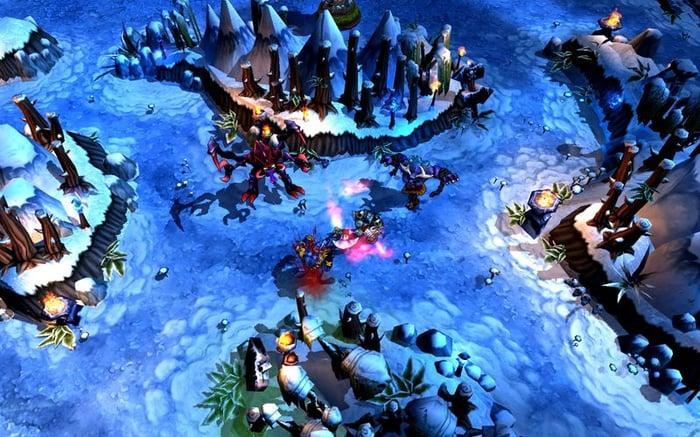 A screenshot of Riot Games' League of Legends.