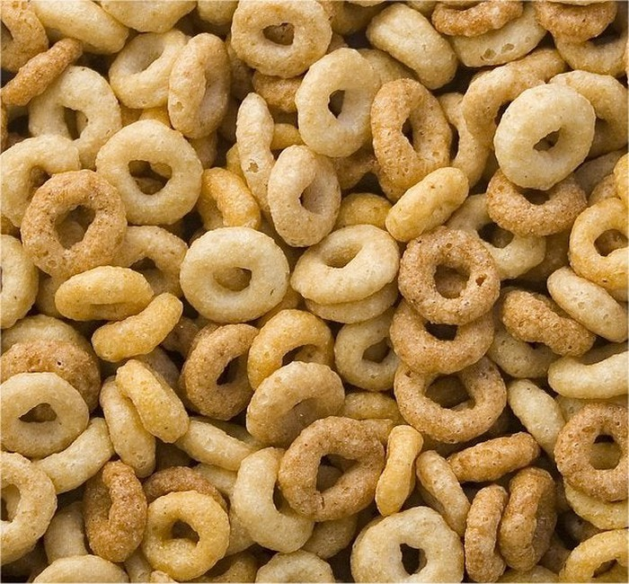 Cheerios breakfast cereal.