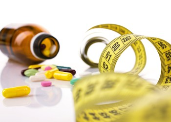 Obesity drugs with tape measure