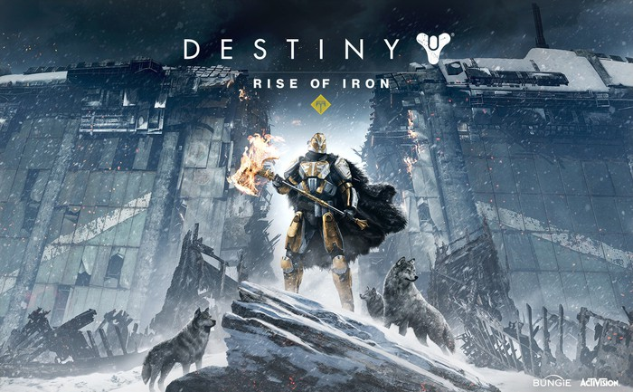 """Screen shot from """"Destiny Rise of Iron"""" video game."""
