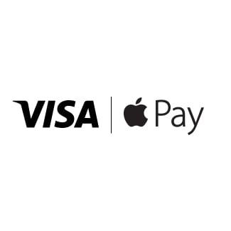 Visa/Apple Pay logo.