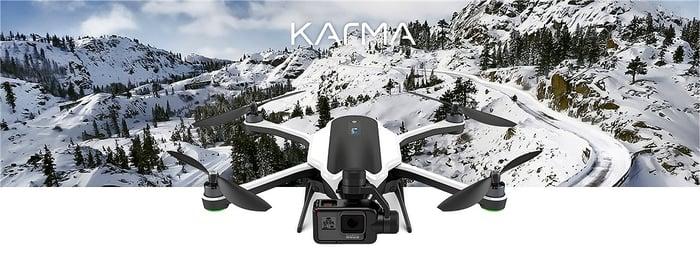 GoPro's Karma drone.
