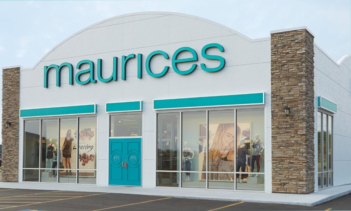 Maurices store front.