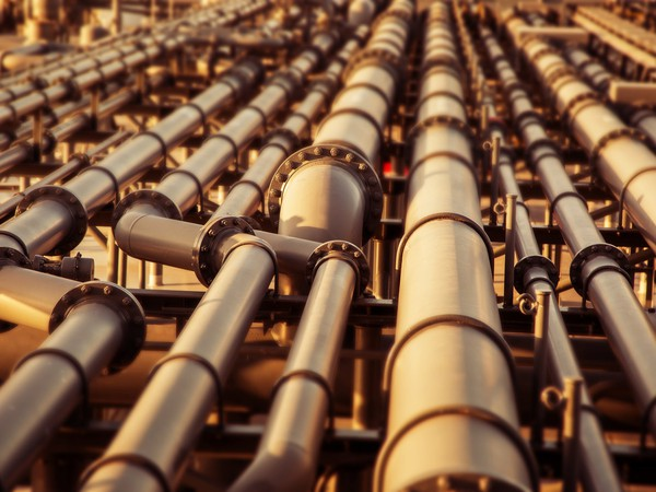 Getty Oil Pipes and Lots of Them