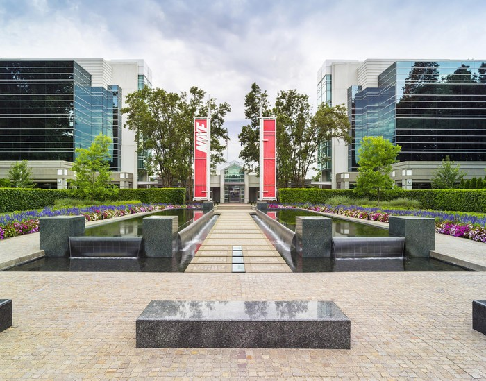 Nike's headquarters in Oregon.