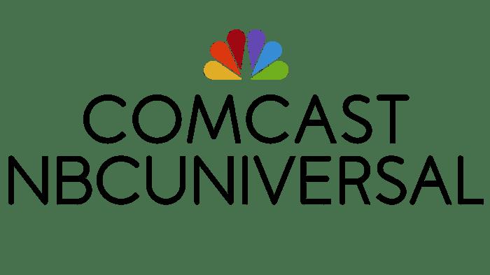 Comcast NBCUniversal logo.