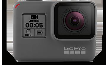 Image of GoPro's flagship HERO 5 action camera.