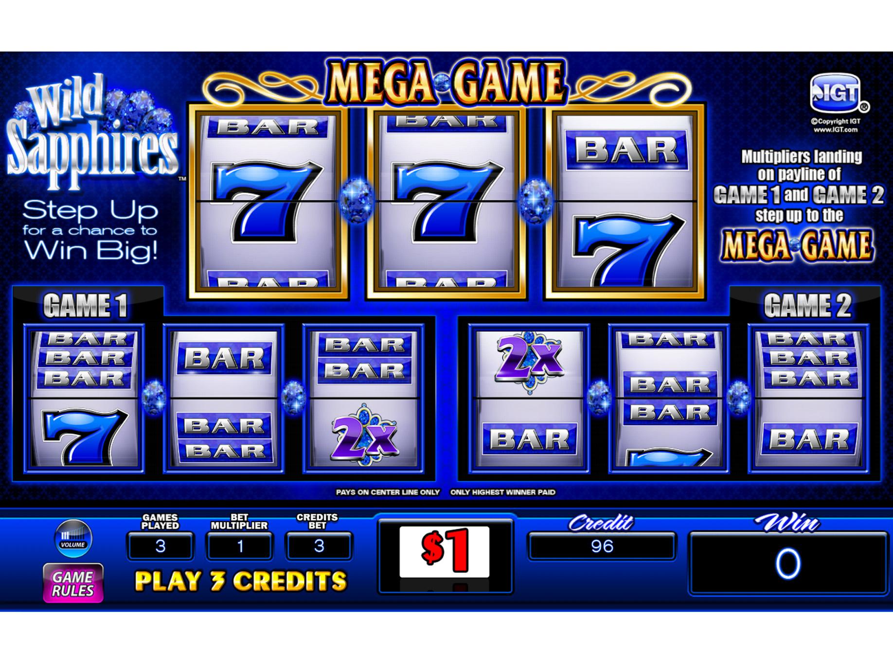 IGT slot machine.