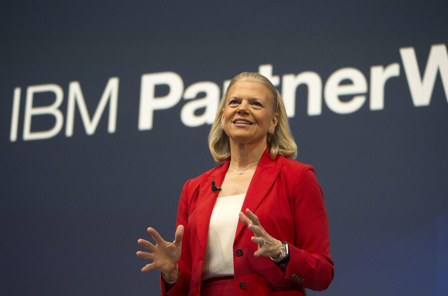 IBM CEO Ginni Rometty.