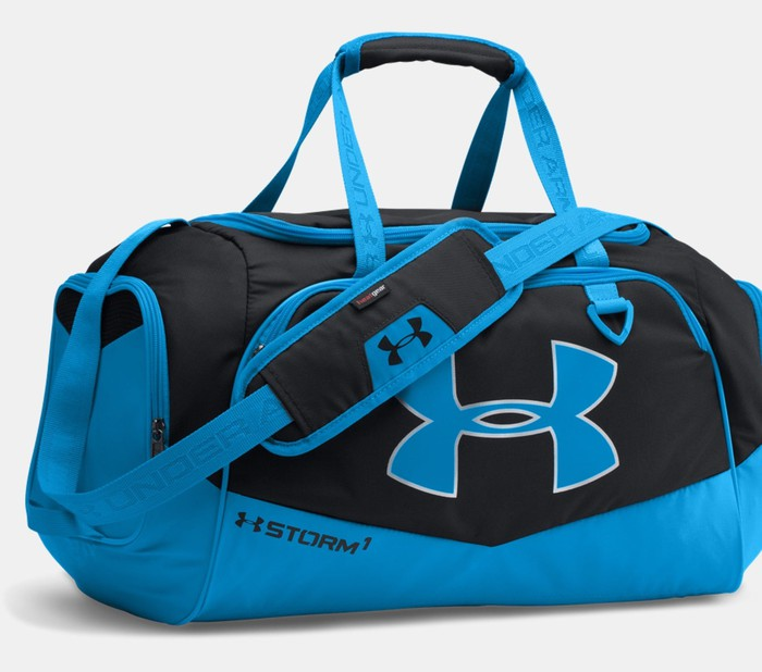 Under Armour bag.