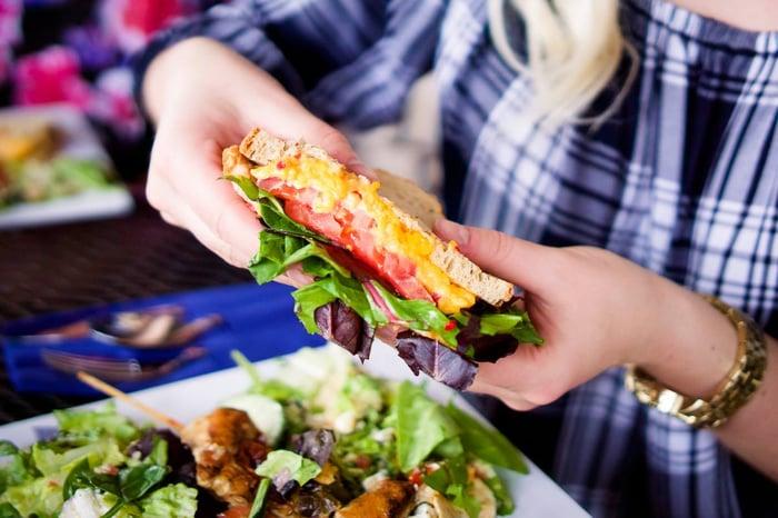 Zoe's Kitchen Pimento Cheese Sandwich