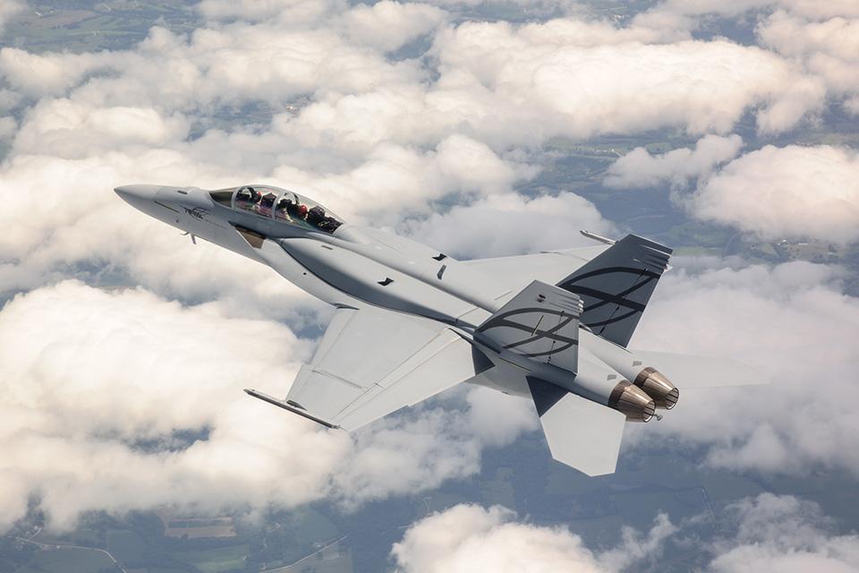 F/A-18 Super Hornet.