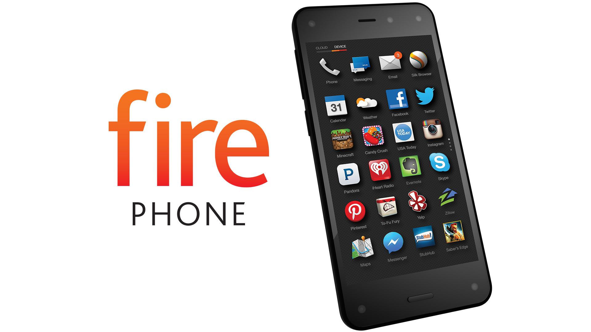 Amazon's Fire Phone.